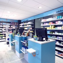 amenagement-interieur-pharmacie-sainte-anne-guadeloupe